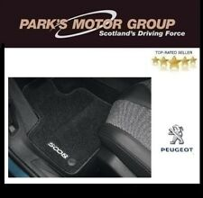 Genuine Peugeot 5008 Needle Pile Floor Mat Set 2017 Onwards 1616436480