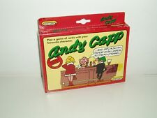 RARE Andy Capp Card Game Boxed Spears 1990 Complete With Instructions Rules