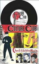 "Culture Club:Church Of The Poison Mind/Man Shake 7"" Vinyl Single:UK Hit"