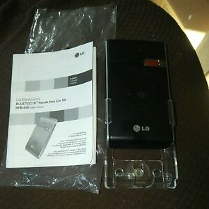 LG HFB-500 Bluetooth Solar Car Kit-Openbox