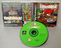 Timeshock! Pinball - Playstation 1 2 PS1 PS2 Rare Game Complete 1-4 Players