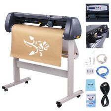 "34"" Vinyl Cutter Sign Plotter Cutting w/ Signmaster Cut Basic Software 3 Blades"