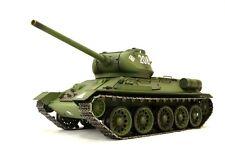 RC Panzer Russischer T-34/85 1:16 Heng Long Rauch Sound Schuss Metallgetriebe