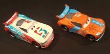 Disney Cars 3 Next Gen  ** PAUL CONREV & RYAN Inside LANEY **  1:55 Scale  Loose