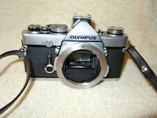 OLYMPUS  OM-1N W/2Lenses. Flash. OM WINDER 2. Case.