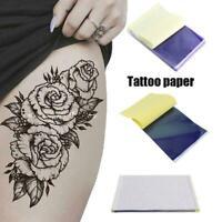 10 Stück Tattoo Transfer Papier Schablone Carbon Thermal Tattoo Transfer W5C7
