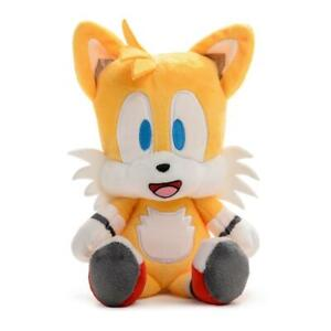 """SONIC THE HEDGEHOG TAILS 8"""" PLUSH KIDROBOT PHUNNY IN HAND"""