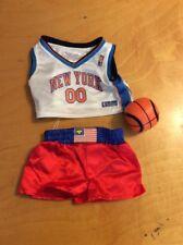 Build a bear boxer shorts & basket ball shirt & ball