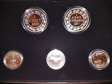 2017 LEGACY OF THE PENNY FINE SILVER COIN SET
