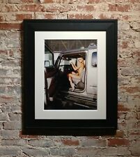Paris Hilton Nude with Tinkerbell - Original Photograph-Signed -Rare