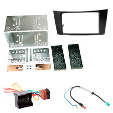 Carav 451-24-8-3 Radio Faceplate Installation Kit Double Din FOR MERCEDES