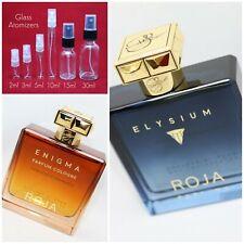 Roja Dove ELYSIUM or ENIGMA Parfum Cologne You Choose Authentic SAMPLE