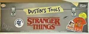 Pop Tees Dustin's Tools Includes T-Shirt and Vinyl Figure (X-Large) - NEW