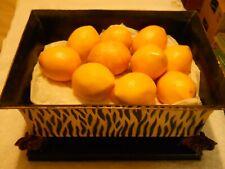 Decor Plastic Lemons