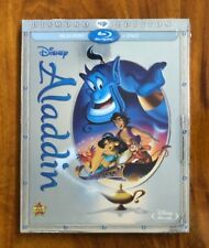 Aladdin Blu-Ray and DVD Diamond Edition Brand New Item Free First Class Shipping