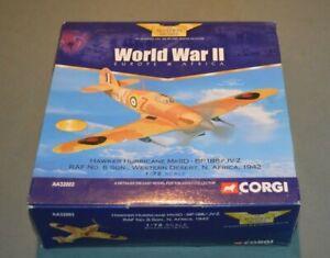 Corgi Hawker Hurricane RAF No 6 Sqn AA32003