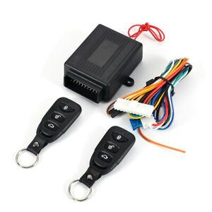 Car Central Power Door Lock/Unlock Remote Kit Keyless Entry System for 2/4 Door