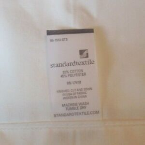 Lot of 12 Bed Sheets Flat White TWIN XL Massage Hospital Standard Textile
