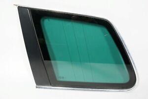 04 05 06 07 VOLKSWAGEN TOUAREG REAR LEFT DRIVER SIDE QUARTER WINDOW GLASS  OEM