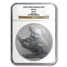 2009 Australia 1 kilo Silver Koala MS-69 NGC - SKU #91753