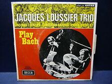 JACQUES LOUSSIER TRIO Play bach 333003