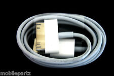 100% Genuine Official Apple iPhone 2G 3GS 4 4S USB Data and Sync & Charge Cable