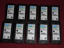10 leere original Patronen HP 350XL Black CB336EE leer empty virgin cartridge