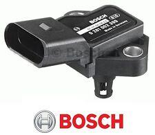 BOSCH MAP SENSOR AUDI 1.4 1.6 TFSI A1 A2 A3 A4 A6 A8 VW GOLF V 4 5 6 PASSAT T5