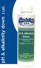 Spa pH & ALKALINITY DOWN Hot Tub 3 LB LOW SHIP!!