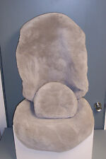 Mercedes  Factory Sheepskin Seat Covers for SL(107 Chassis)Light Gray-1 PAIR