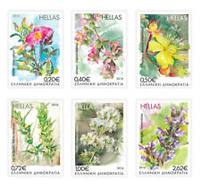 Griekenland / Greece - Postfris/MNH - Complete set Flowers 2016