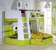 Etagenbett Fussball Kinderzimmer Kinderbett Hochbett Multifunktionalbett 90x200