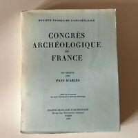 Congresso Archeologico Di Francia 134e Session 1976 Paesi Arles 1979