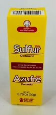 Sulfur10% Acne Treatment Ointment-Azufre 10% Pomada de Tratamiento para el Acne
