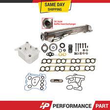 Ford 6.0 EGR Cooler Intake Gasket Upgraded Oil Cooler for 04 - 10 FORD Diesel