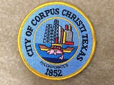 #8002 CITY OF CORPUS CHRISTI TEXAS Embroidery Sew On Applique Patch