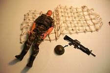 Hasbro GI Joe Marine Amphibious Assault Training with Climbing Net 2005
