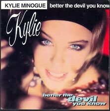 KYLIE MINOGUE BETTER THE DEVIL YOU KNOW 45T SP 1990 CBS 656.009 NEUF / MINTI
