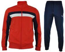 Abbiglimento sportivo da uomo tute da ginnastica rosse PUMA
