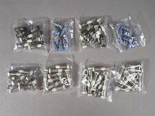 LOT of 64 Mini Banana Jack Plug Receptacle Panel Mount