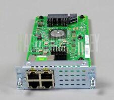 CISCO NIM-ES2-4 4-port Layer 2 GE Switch Network Interface Module