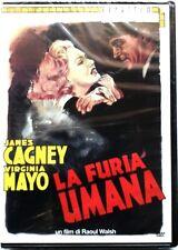 Dvd La Furia umana (Collana Cineteca) di Raoul Walsh 1949 Nuovo