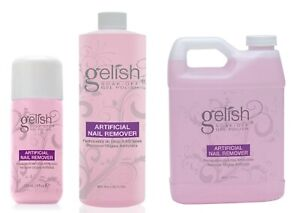 Harmony Gelish Artificial Nail Remover [4/16/32 Fl. Oz.] **Pick Your Sizes**