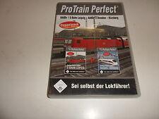 PC  Train Simulator - Pro Train Perfect Doppelpack S-Bahn Leipzig / Dresden - Nü