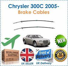 For Chrysler 300C 3.0DT V6 2005- Rear Right & Left Side Hand Brake Cables Set