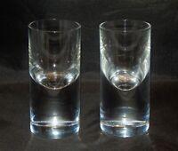 Baccarat Crystal France Pair of Rare Shot Glasses