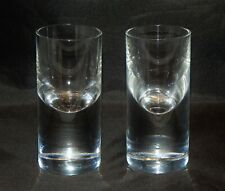 Baccarat Crystal France Pair of Rare Shot Glasses