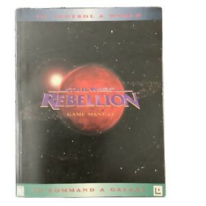 Star Wars Rebellion Game Manual 176 Pages To Control A World To Command A Galaxy