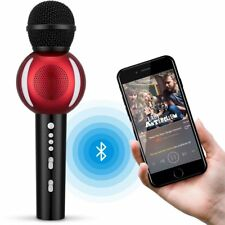 Wireless Karaoke Microphone,Fnova Portable Bluetooth Karaoke Player for Home Ktv