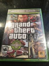 Grand Theft Auto IV Platinum Hits Edition Xbox 360 Brand New Factory Sealed